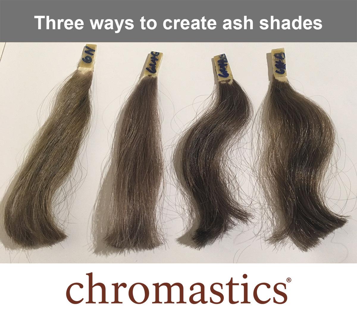 Tuesday Tip: Three ways to create ash shades