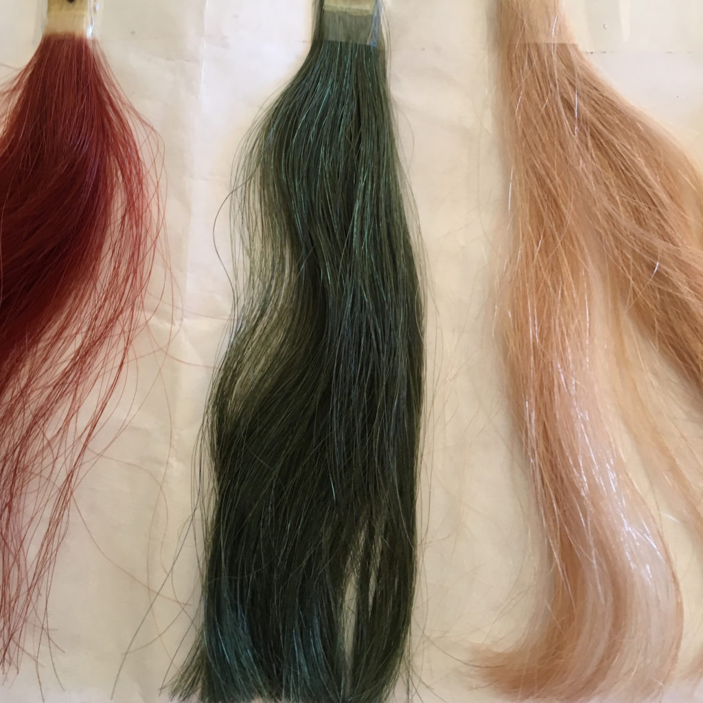 forest green hair color